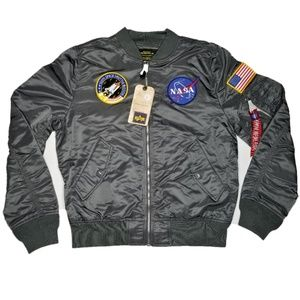 Alpha Industries L-2B NASA Bomber Flight Jacket L